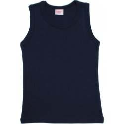 Navy blue tank undershirt
