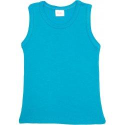 Turquoise tank undershirt