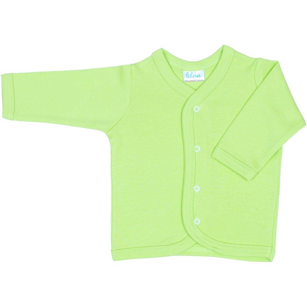 Pieptaras maneca lunga verde lime | liloo