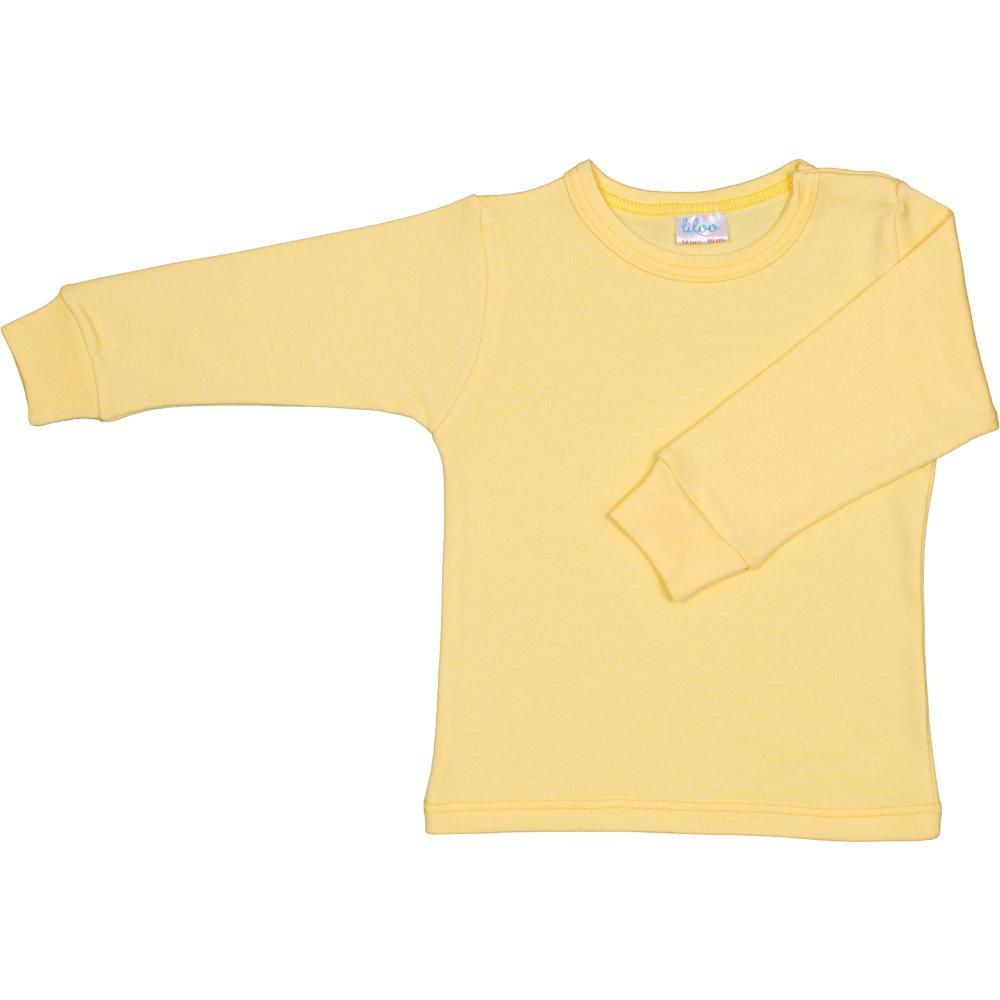 Bluza casa maneca lunga galbena | liloo