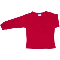 Red long-sleeve undershirt