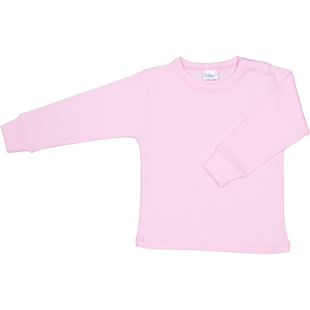 Bluza casa maneca lunga roz | liloo
