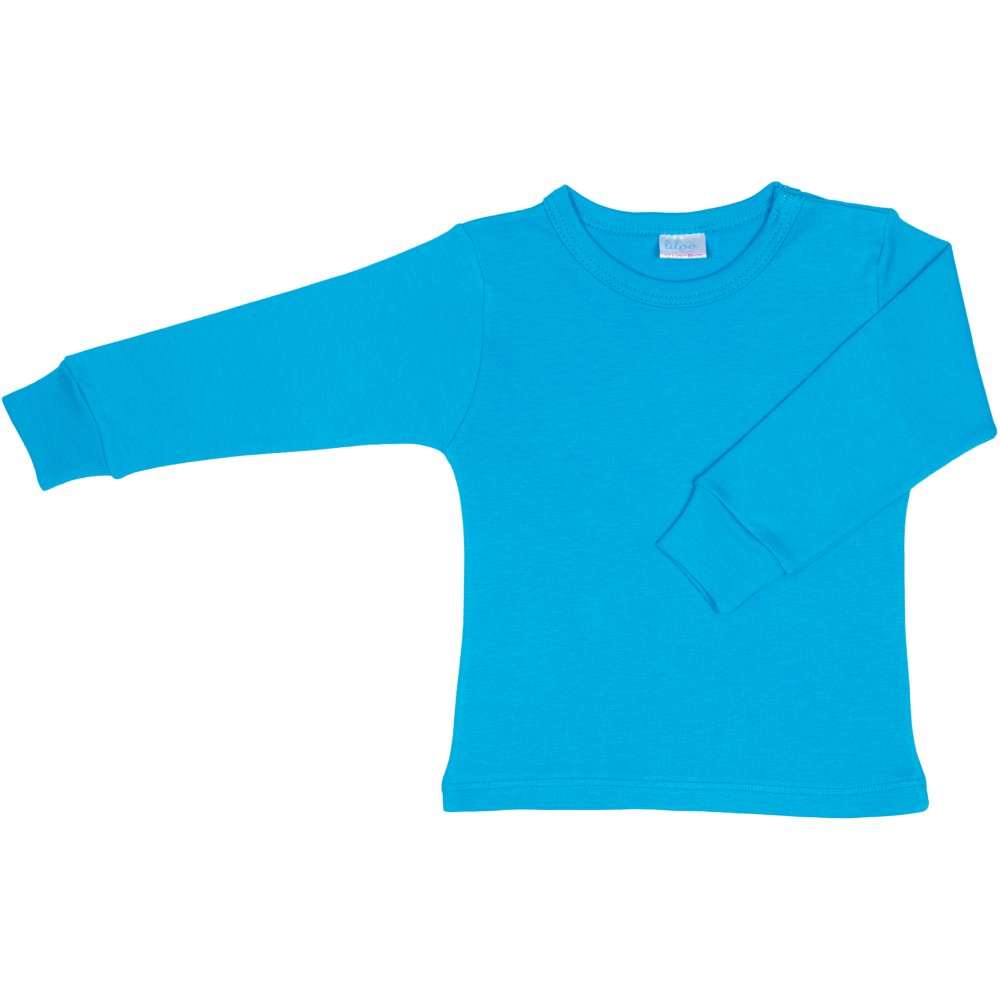 Bluza casa maneca lunga turcoaz | liloo
