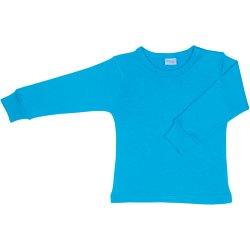 Bluză casă mânecă lungă turcoaz