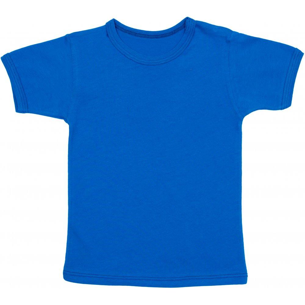 Tricou mânecă scurtă albastru | liloo