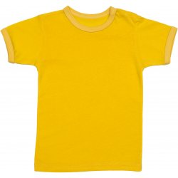 Yellow short-sleeve tee