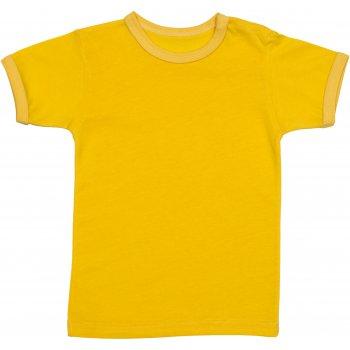 Tricou mânecă scurtă galben
