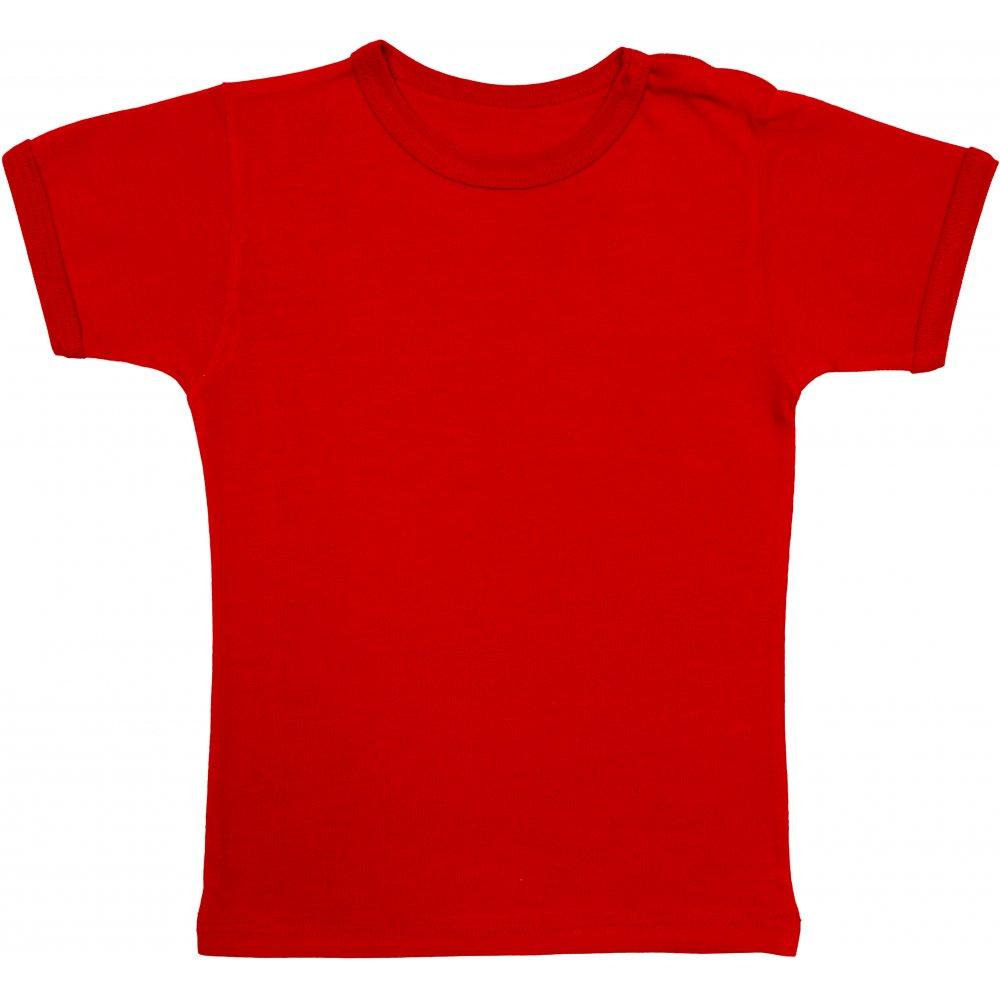 Tricou mânecă scurtă roșu | liloo