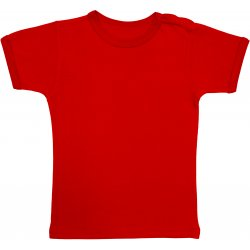 Red short-sleeve tee
