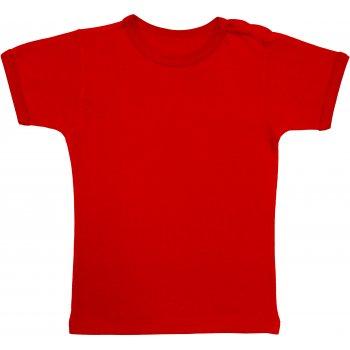 Tricou mânecă scurtă roșu