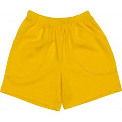 Yellow play shorts