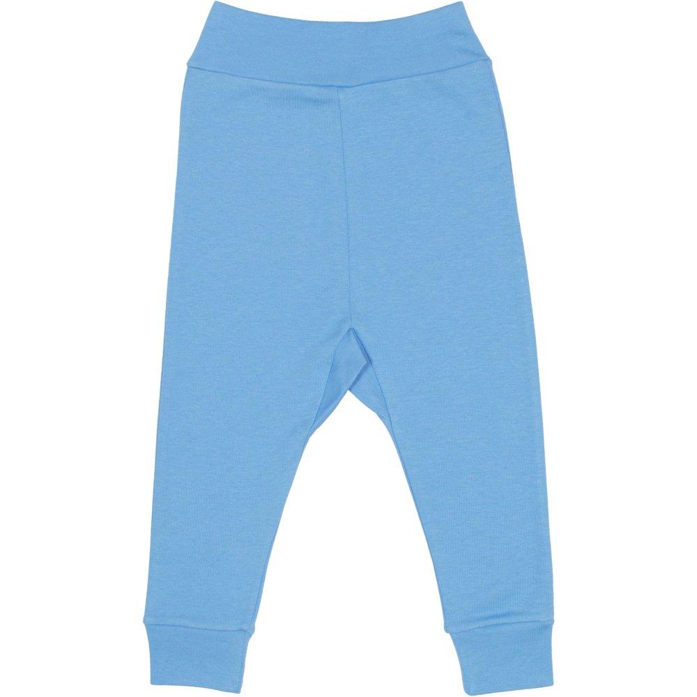 Pantaloni de casa cu manseta (izmene copii) azur | liloo