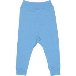 Pantaloni de casă cu manşetă (izmene copii) azur