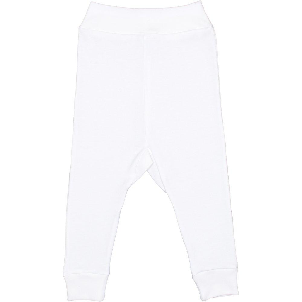 Pantaloni de casa cu manseta (izmene copii) crem deschis | liloo