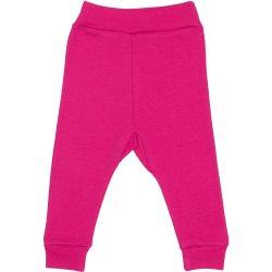 Pantaloni de casă cu manşetă (izmene copii) fucsia
