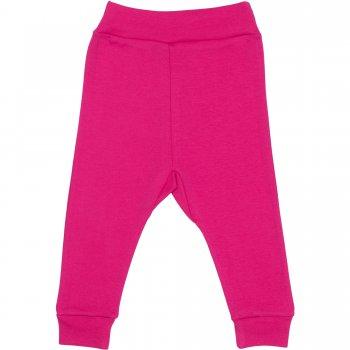 Pantaloni de casă cu manşetă (izmene copii) fucsia | liloo