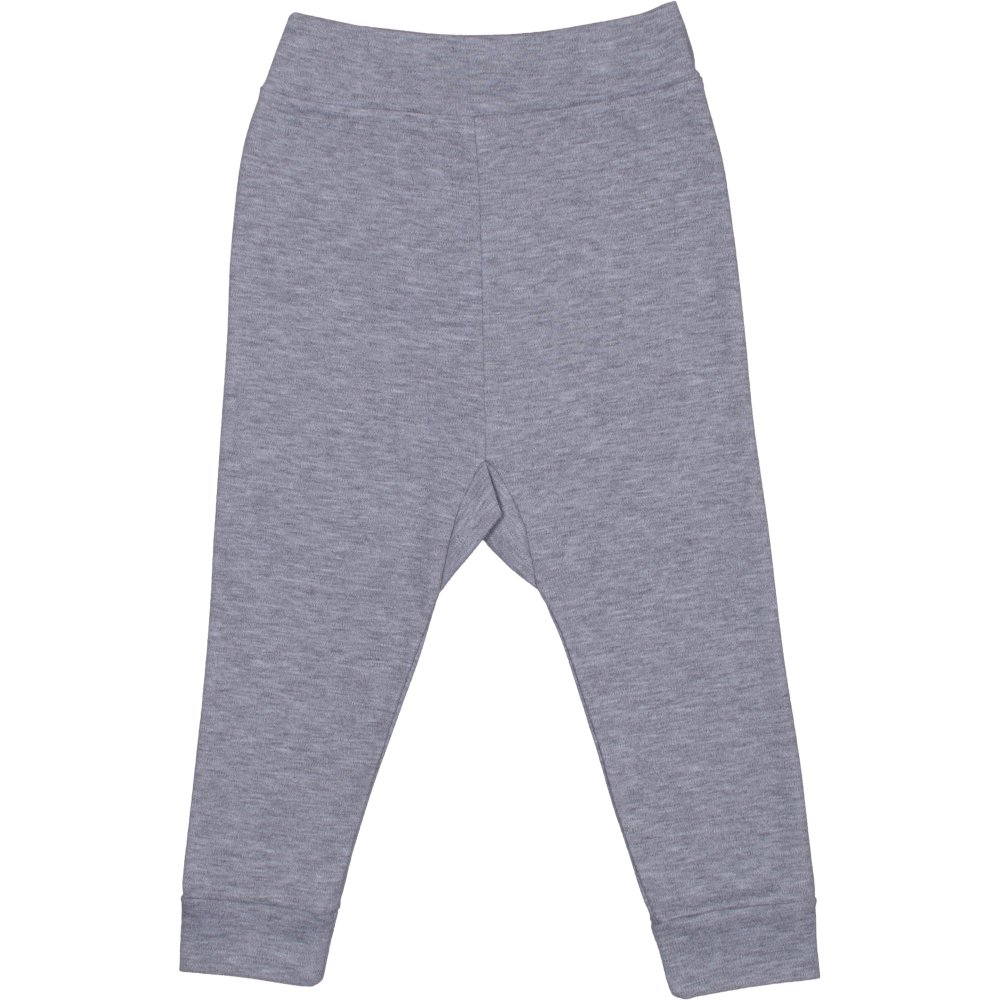Pantaloni de casa cu manseta (izmene copii) gri | liloo