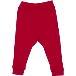Red babysoft trousers