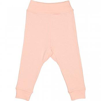 Pantaloni de casa cu manseta (izmene copii) somon | liloo