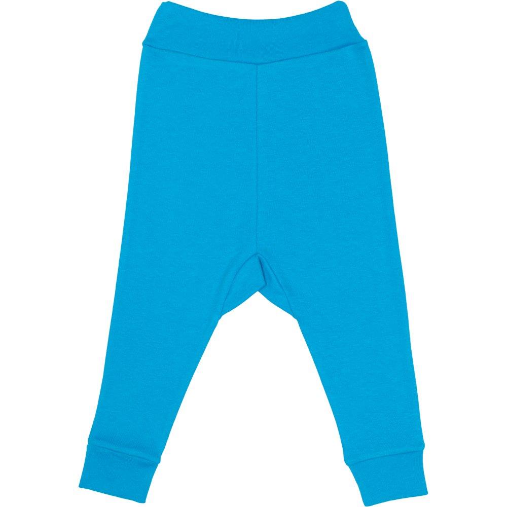 Pantaloni de casa cu manseta (izmene copii) turcoaz | liloo