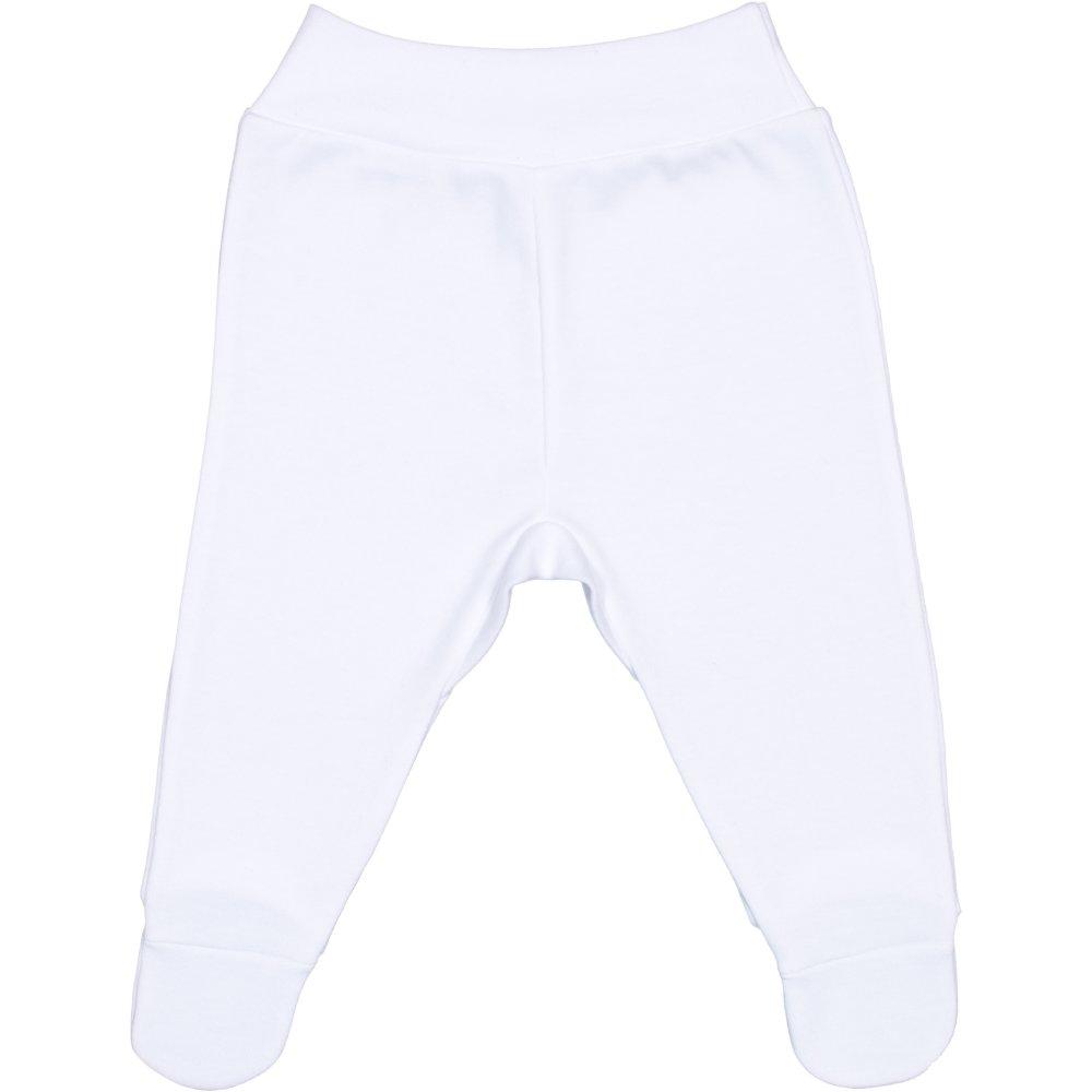 Pantaloni cu botosei banda albi | liloo