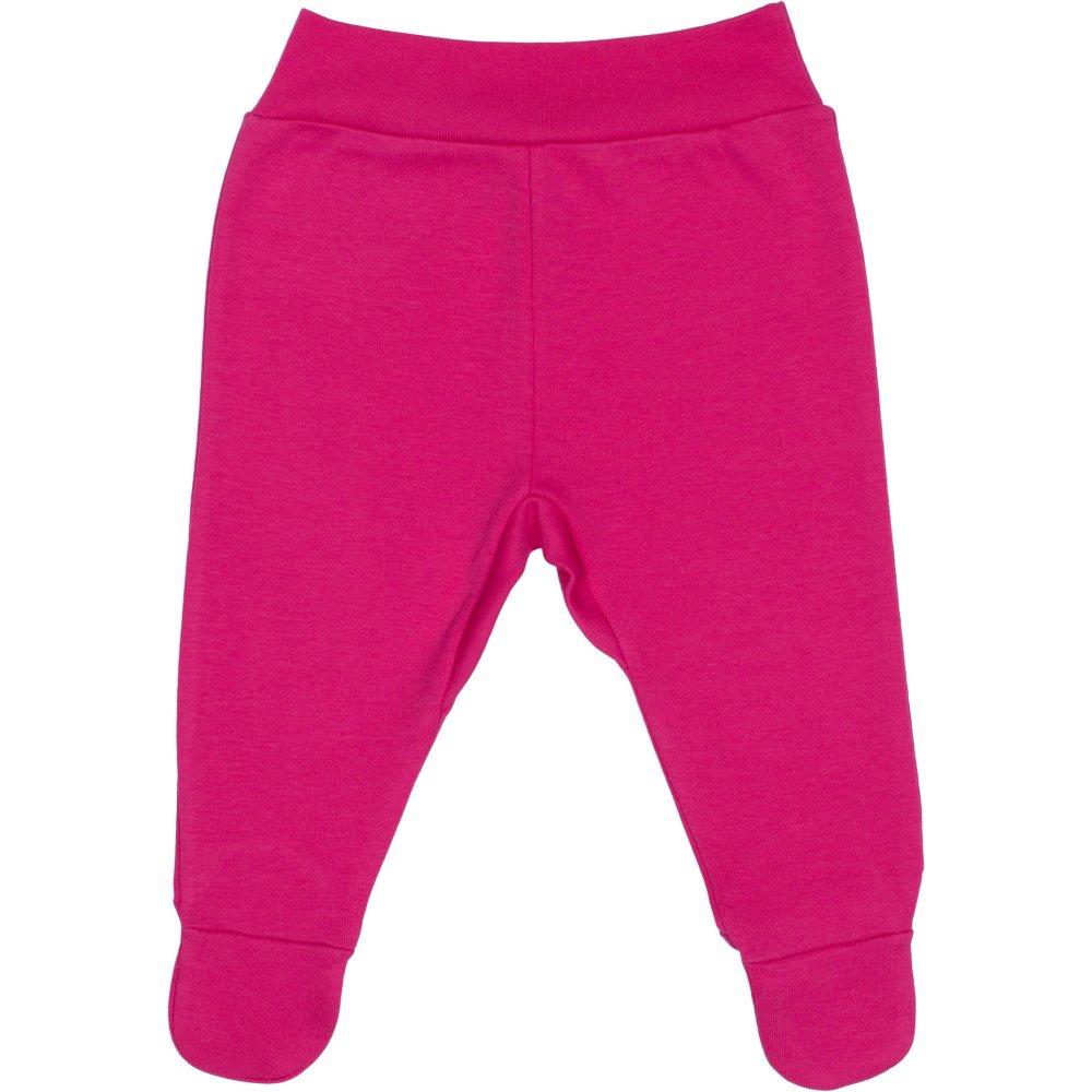 Pantaloni cu botosei banda fucsia | liloo