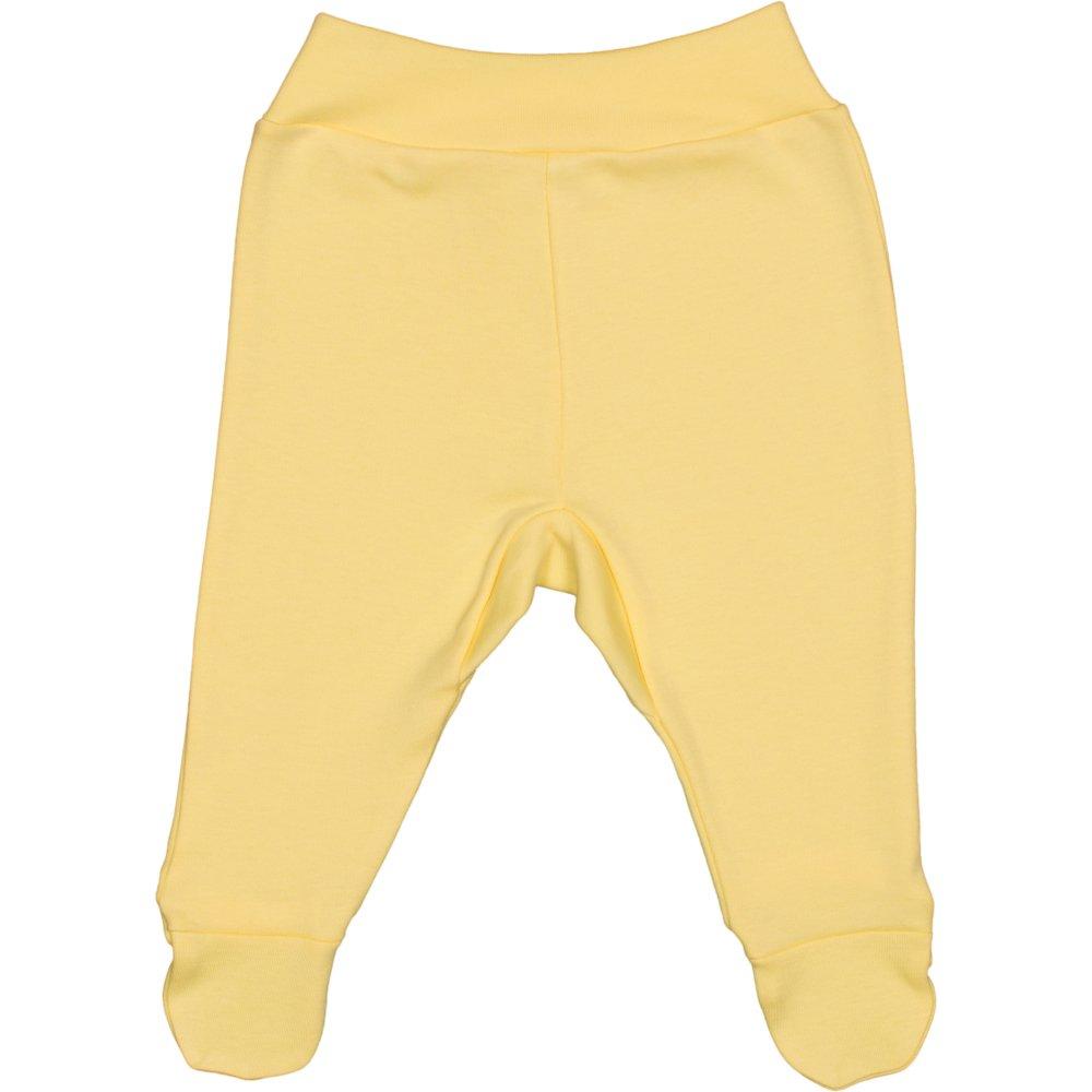 Pantaloni cu botosei banda galbeni | liloo