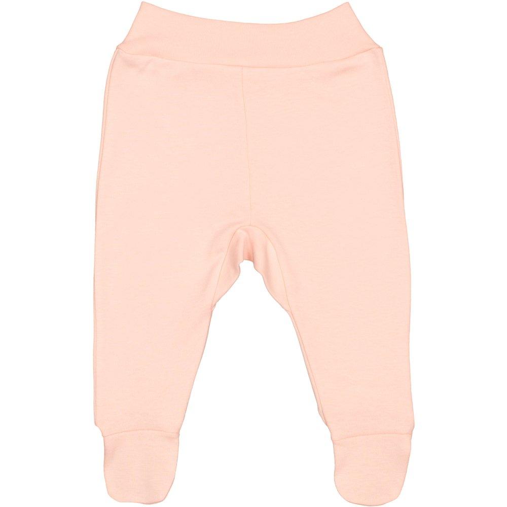 Pantaloni cu botosei banda somon | liloo