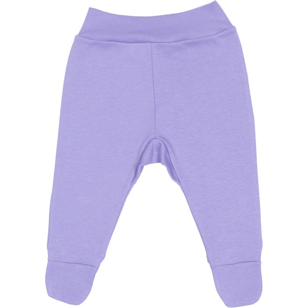 Pantaloni cu botosei banda violet | liloo
