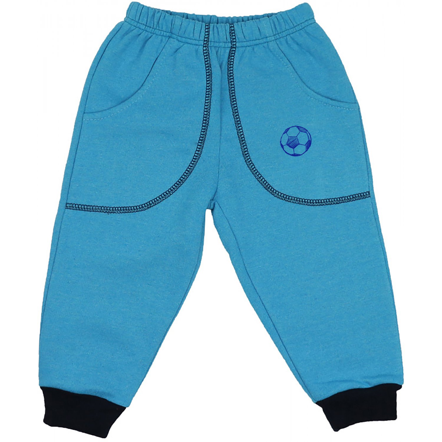 turquoise thick joggers with football print at 16 79lei tax liloo