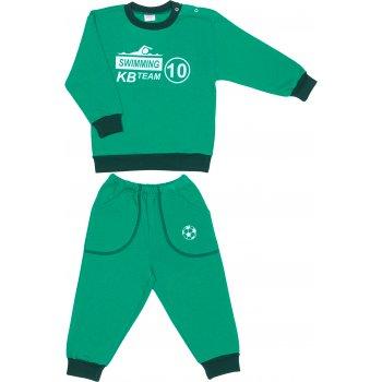 Costum trening gros verde imprimeu swimming