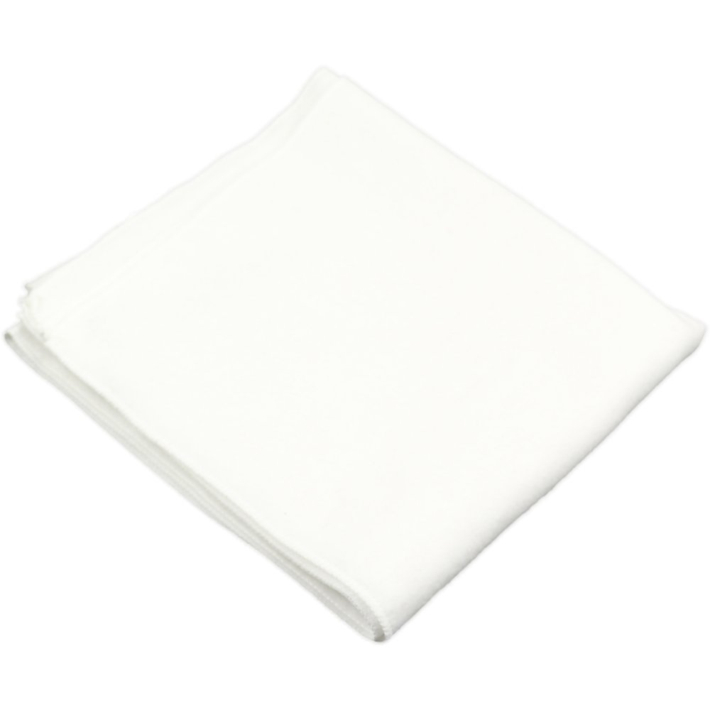 Scutec lavabil refolosibil mare - bumbac (finet) alb | liloo