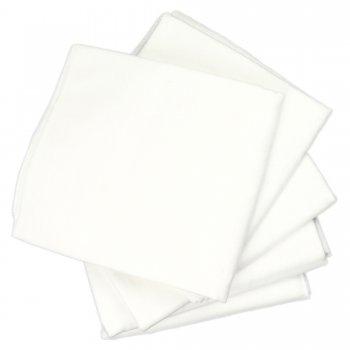 Scutece lavabile refolosibile mari - bumbac (finet) alb - set economic 5 bucăți | liloo