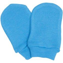 Turquoise newborn gloves