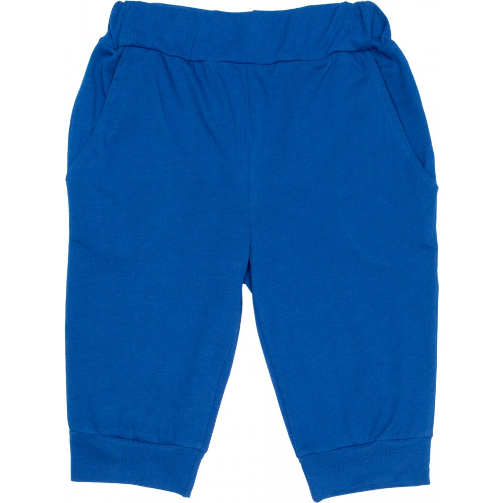 Pantaloni trei sferturi albaștri | liloo
