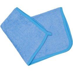 Azure hand towel
