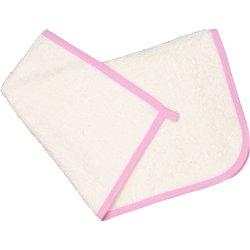 Prosop mic pentru mâini - ivory bordaj roz