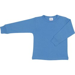 Dark azure long-sleeve undershirt