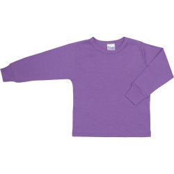 Purple long-sleeve undershirt