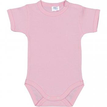 Body mânecă scurtă roz uni | liloo