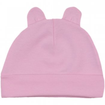Căciuliţă roz cu urechi | liloo