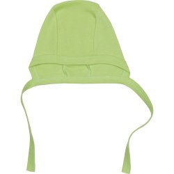 Lime green baby bonnet