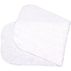 White burp cloth