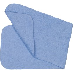 Azure burp cloth