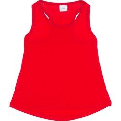Maiou roșu rotunjit pentru fetițe
