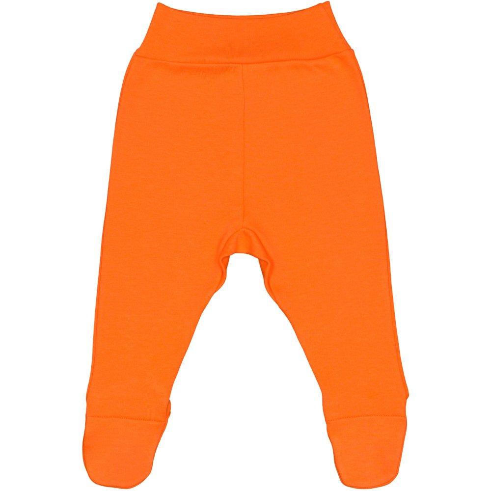 Pantaloni cu botosei banda portocalii | liloo