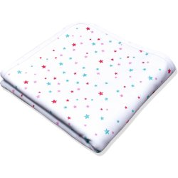 Double layer blanket with stars print
