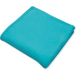 Aqua double layer blanket