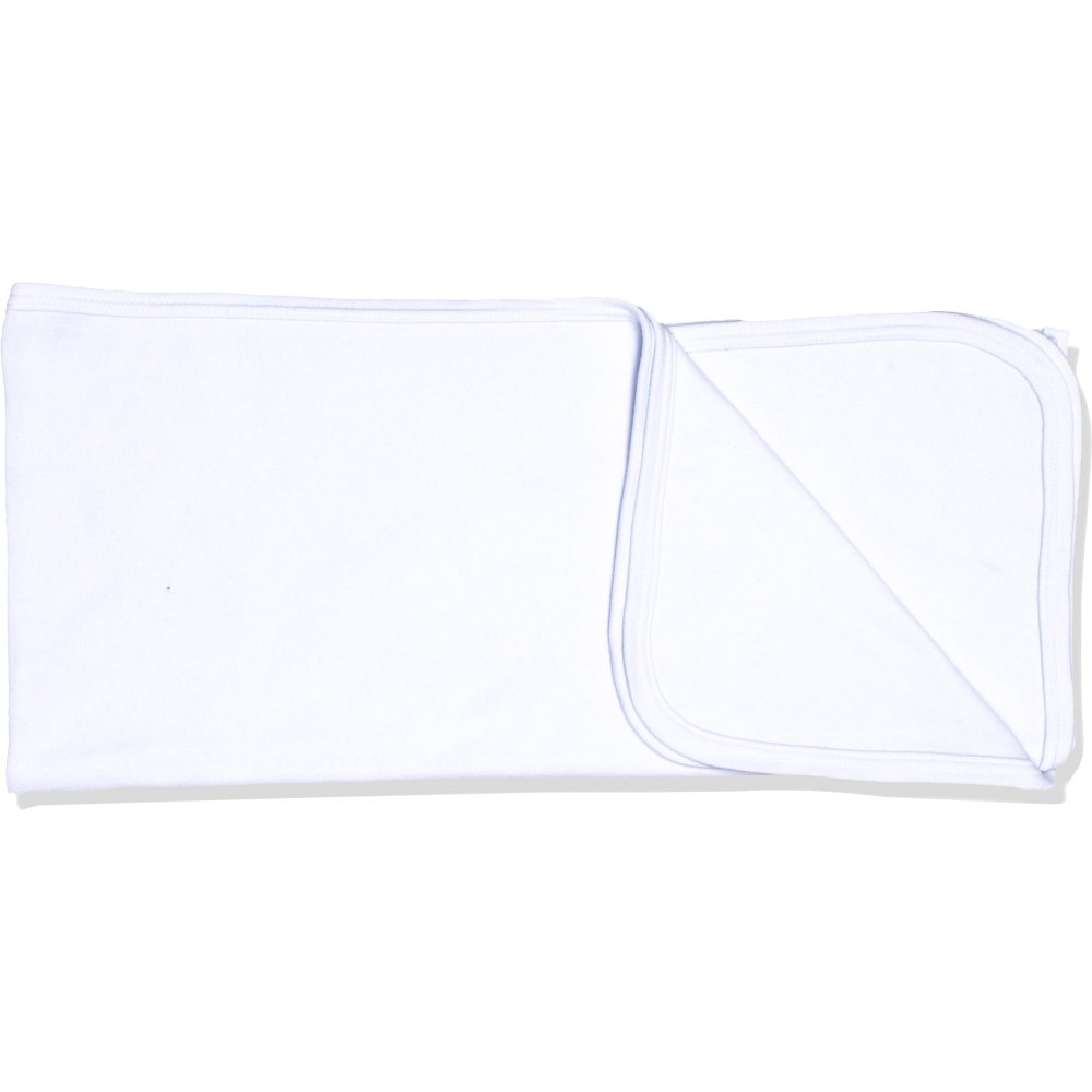 Păturică subțire (simplă) albă | liloo