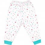 Pijamale groase imprimeu model steluțe colorate   liloo